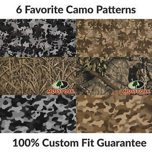 3rd Row Camo Carpet Floor Mat For Chrysler Town Country f2445