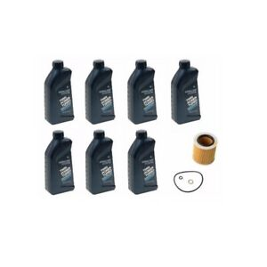 Bmw Synthetic 5w30 7 Genuine Motor Oil Engine Oil Filter Mahle 07510017866