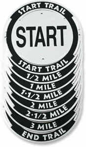 Trailite Distance Markers 3 Mile Pack Of 8