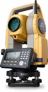Topcon Es 107 7 Single Display Total Station