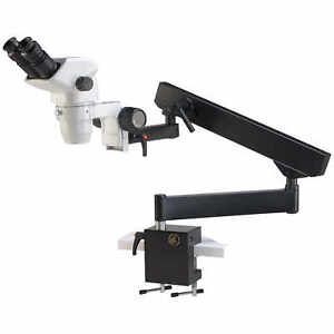 Accu scope Binocular Zoom Stereo Microscope With Flex Arm Stand