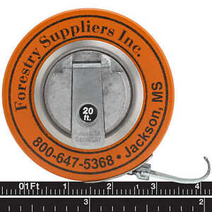 Forestry Suppliers English Steel Diameter Tape Model 343d