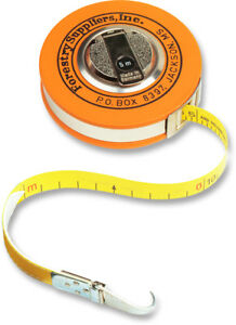 Forestry Suppliers Metric Fabric Diameter Tape Model 283d 5m