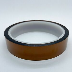 20mm X 33m 100ft High Temperature Heat Resistant Polyimide Kapton tape Us Ship