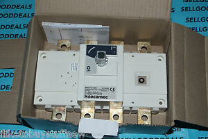 Socomec 26dc4026 Sirco Dc 4x250a F Disconnect Switch 250a Dc 26dc 4026 New