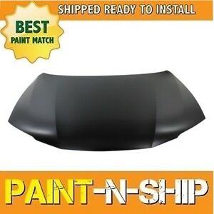 New Fits 2013 2014 2015 2016 2017 Honda Accord Coupe 6cyl Hood Painted Ho1230173