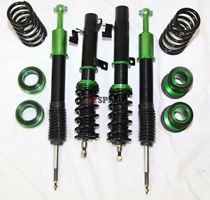 10 13 Mazda 3 Mazdaspeed 3 Coilover Suspension Kit Lower Springs Mps Bk Rs Green