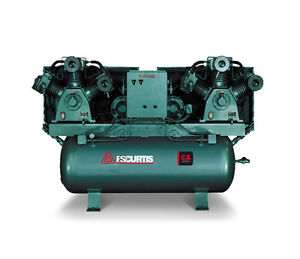 Fs Curtis Ca Series Duplex Horizontalmounted Air Compressor 5 Hp