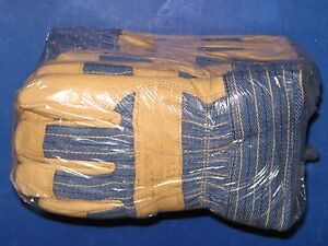 Wells Lamont Industrial Leather Cold Protection Work Gloves 6 pair Pack