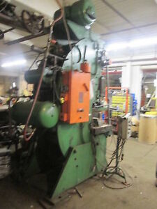 Warco 75 Ton 4 Stroke 60 Spm Stamping Press W 14 5 Shut Height