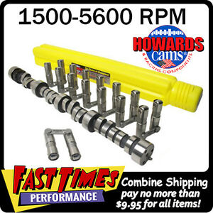 Howard S Sbc Chevy Retro Fit Roller 272 278 525 525 112 Cam Camshaft Lifters