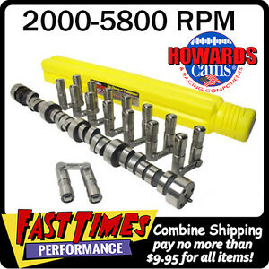 Howard S Sbc Chevy Retro Fit Roller 278 278 525 525 110 Cam Camshaft Lifters