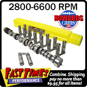 Howard S Sbc Chevy Retro Fit Roller 296 302 600 600 112 Cam Camshaft Lifters