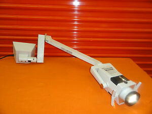 Datex ohmeda Spot Neonatal Phototherapy Light Ii W Flexi Arm rail Mount 5356