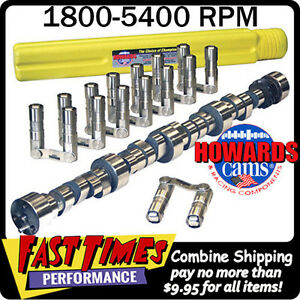 Howard S Bbc Chevy Retro Fit Roller 278 284 567 578 112 Cam Camshaft Lifters