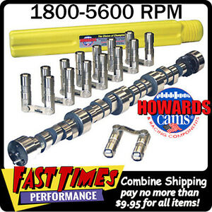 Howard S Bbc Chevy Retro Fit Roller 278 288 595 601 112 Cam Camshaft Lifters