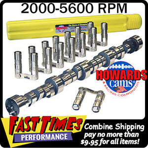 Howard S Bbc Chevy Retro Fit Roller 280 280 555 555 108 Cam Camshaft Lifters