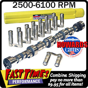 Howard S Bbc Chevy Retro Fit Roller 286 286 601 601 108 Cam Camshaft Lifters