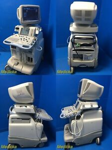 2002 Ge Logiq 9 Ultrasound W 739l Linear 10s Sector Probes Vcr