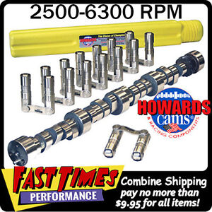 Howard S Bbc Chevy Retro Fit Roller 286 298 635 635 112 Cam Camshaft Lifters