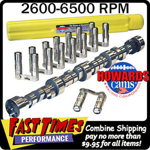 Howard S Bbc Chevy Retro Fit Roller 290 296 635 640 114 Cam Camshaft Lifters