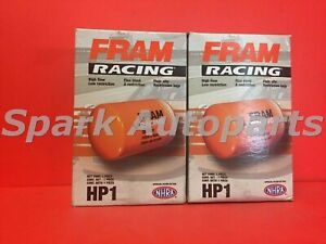 Hp1 Filter Lot Of 2 Engine Oil Filter High Performance Spin On Fram Hp1 For Ford