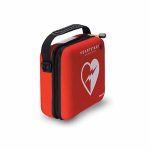 Philips M5075a Heartstart Carry Case In Durable Red Cordura W Paramedic Scissor