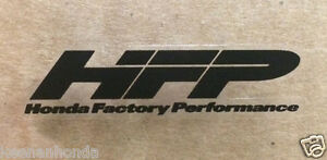 Genuine Oem Honda Factory Performance Hfp Decal 1 75 X 50 Small Sticker