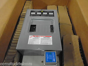 Emerson 544970 8 Pos 120v 240 Ac Distribution Panel With Square d Q08 16l100s
