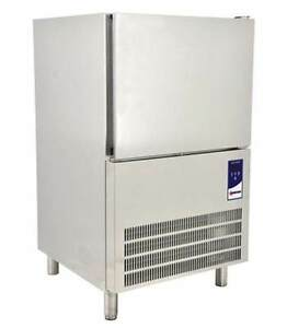 Omcan Bc it 0906 32 Stainless Steel 6 tray Blast Chiller Freezer Made In Italy