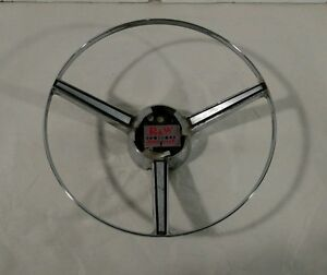 Chrome Horn Ring For 1968 Dodge Charger And Plymouth Fury