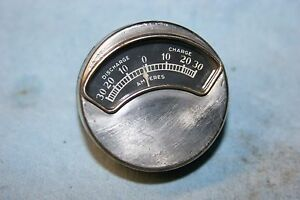 Antique Vintage Amp 2 Stainless Gauge Unknown Mystery