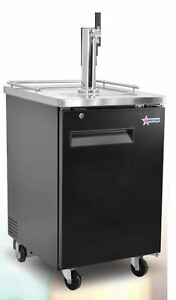 Omcan Bd cn 0007 s 24 1 door 1 tower Commercial Bar Beer Kegerator Cooler New