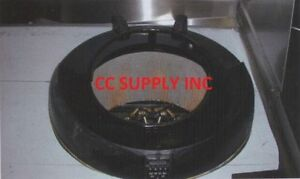 Chinese Wok Chamber Reducer From 22 To 13 Heavy Steel Materials wok Parts