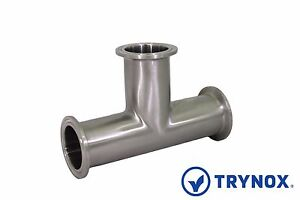 Tri Clamp 4 Sanitary Stainless Steel 304 Equal Tee Trynox