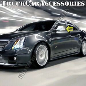 For Cadillac Cts 2008 2009 2010 2011 2012 2013 2014 Chrome Full Mirror Covers 2