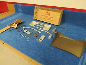 1952 Ford Passenger Car Radio Receiver Adaptor Kit Nos Ford 216