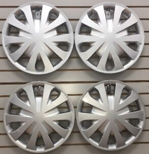 15 Hubcaps Wheelcovers Fits 2012 2017 Nissan Versa Set Of 4 New Am