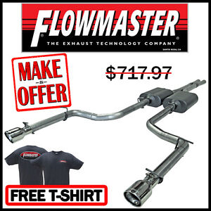 Flowmaster 2005 10 Magnum Rt Charger Rt 300c 5 7l Cat Back Stainless Exhaust Kit