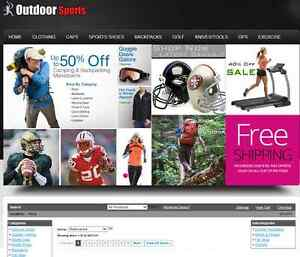 Established Sporting Goods Niche Affiliate Turnkey Website Business For Sale