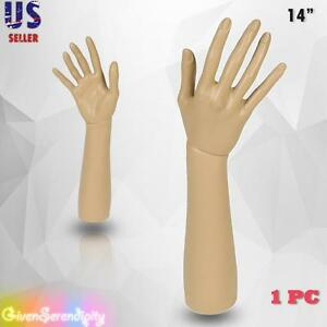 Mannequin Hand Display Jewelry Bracelet Necklace Ring Glove Stand Holder 14