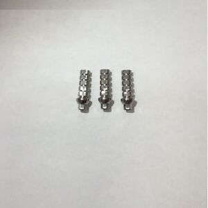 50x Temporary Titanium Abutments Screw For Internal Hex Implant System 254