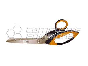 8 Single Serrated Shears For Carbon Fiber Fiberglass Fabrics Made With Kevlar