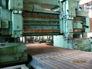 Plano Milling And Drilling Machine Line Sl 236 Nu Cnc Table 3000x16000mm