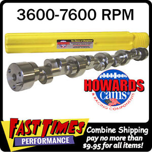 Howard S Sbc Chevy 297 307 640 630 112 Nitrous Solid Roller Cam Camshaft