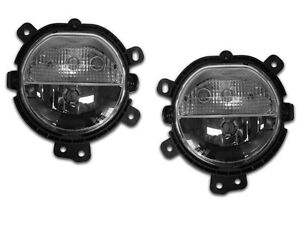 14 15 Mini Cooper F55 F56 Replacement Driving Fog Light W Drl Pair Left Right