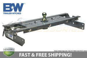 B W Turnover Ball Gooseneck Gnrk1313 Hitch 2003 2012 Dodge Ram 2500 3500