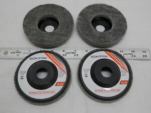 4 New 4 1 2 Sponge Polishing Disc 7 8 Arbor 15000 Max Rpm Wheel Disk
