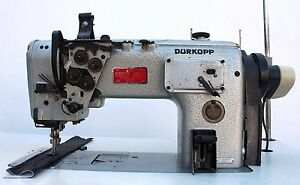 Durkopp Adler 291 163 Walking Foot Lockstitch Industrial Sewing Machine 220v 3ph