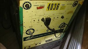 Union Carbide Welding Products Linde Power Supply Type C 300 Ac dc Welder